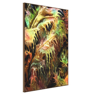 Prehistoric forest by rafi talby canvas print