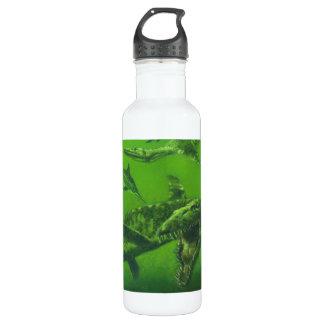 Prehistoric Jurassic Pliosaur Stainless Steel Water Bottle