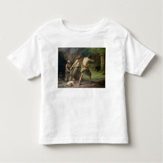Prehistoric Man Hunting Bears, 1832 Toddler T-shirt