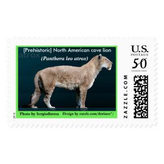 [Prehistoric] North American cave lion Postage