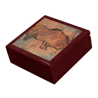prehistoric painting trinket boxes