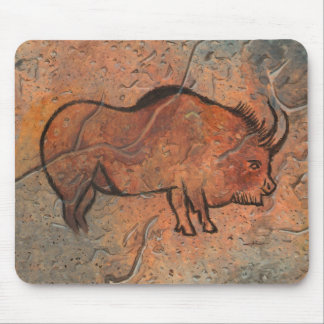 Prehistoric painting mousepad