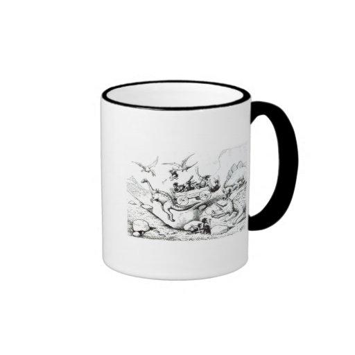 Prehistoric Peeps, 1894 Coffee Mugs