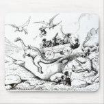 Prehistoric Peeps, 1894 Mouse Pad