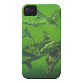 Prehistoric Pliosaur iPhone 4 Case-Mate