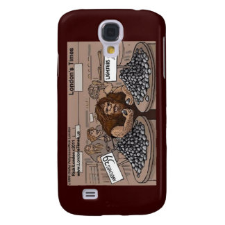 Prehistoric Retail Shopping Funny Gifts Cards Samsung Galaxy S4 Case