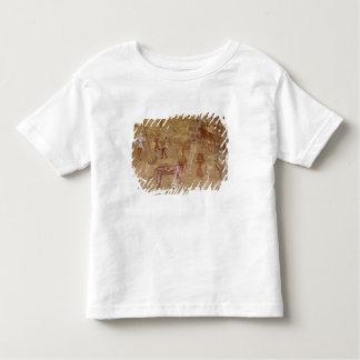 Prehistoric rock paintings, Akakus, Sahara Tee Shirt