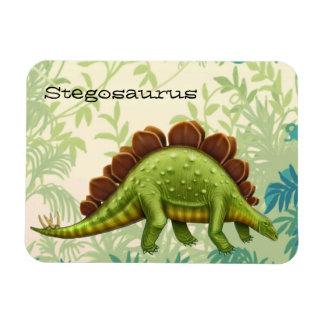 Prehistoric Stegosaurus Dinosaur Magnet