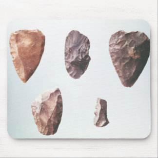Prehistoric stone tools, from Grotte de Mouse Pad