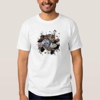 Prehistoric time  design tee shirt