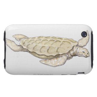 Prehistoric Turtle iPhone 3 Tough Cover