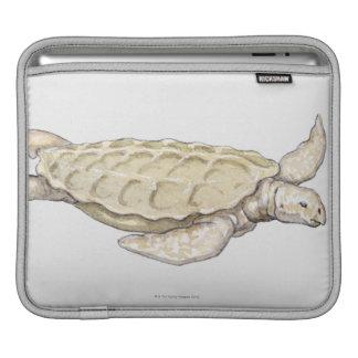 Prehistoric Turtle iPad Sleeve