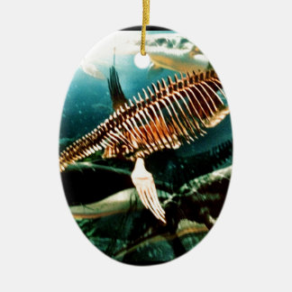 Prehistoric Underwater Sea Creature - Loch ness Ceramic Ornament