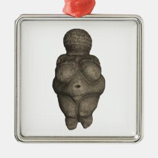 Prehistoric Venus Figurine Metal Ornament