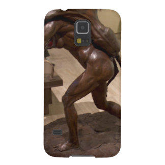 Prehistoric woman carrying an antelope galaxy s5 cover