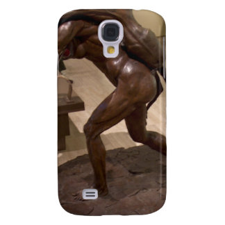 Prehistoric woman carrying an antelope samsung galaxy s4 cover