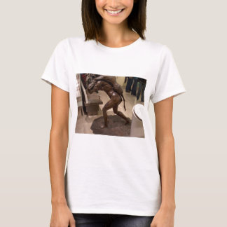 Prehistoric woman carrying an antelope T-Shirt