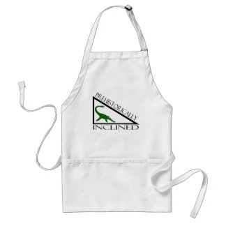 Prehistorically Inclined Adult Apron