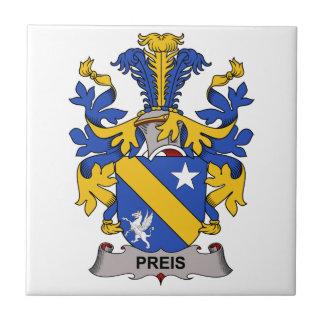 Preis Family Crest Tile