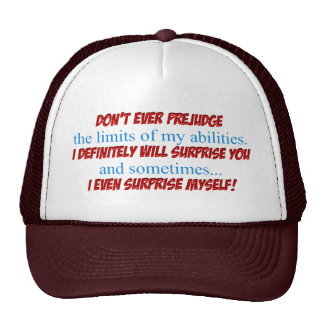 Prejudge Trucker Hat