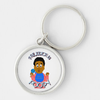 Prejudice Is Poopy Keychain
