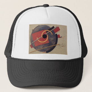 Preliminary sketch for a poster by El Lissitzky Trucker Hat