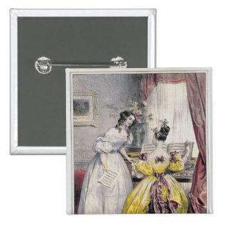 Prelude, from 'Journal des Femmes', 1830-48 Button