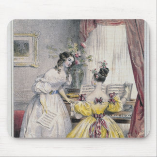 Prelude, from 'Journal des Femmes', 1830-48 Mouse Pad