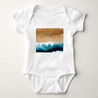 Prelude Sea Waves Ocean Art CricketDiane Infant Creeper