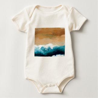 Prelude Sea Waves Ocean Art CricketDiane Baby Bodysuit