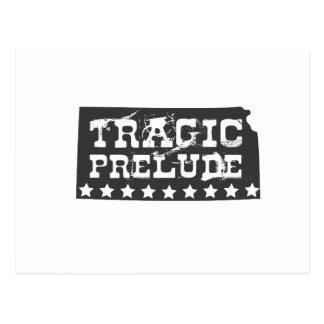 Preludio trágico tarjetas postales