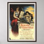 Premier 1898 de Rusia Fausto Gete Poster
