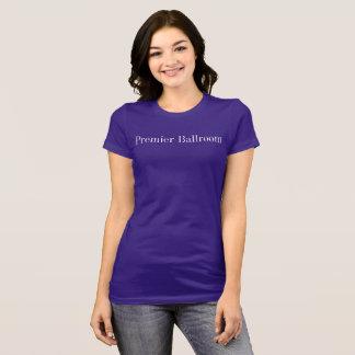 Premier Ballroom Slim-fit Jersey T-Shirt- Purple T-Shirt