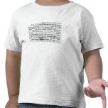 Premier de Sonate para el violín y el clavicordio Camiseta