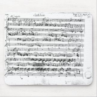 Premier de Sonate para el violín y el clavicordio Tapetes De Raton