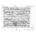Premier de Sonate para el violín y el clavicordio Postal