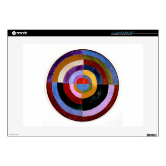 "Premier Disque by Robert Delaunay Decals For 15"" Laptops"