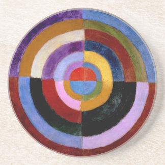 Premier Disque by Robert Delaunay Drink Coaster