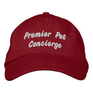 Premier Pet Concierge  Pet Business Embroidered Baseball Hat