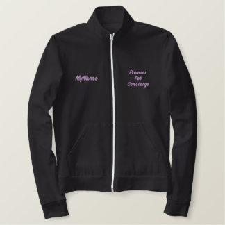 Premier Pet Concierge Purple Custom Embroidered Jacket