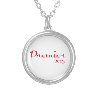 Premier Red Round Pendant Necklace