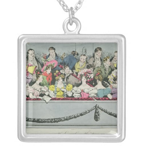 Premiere Loge d'un theatre Personalized Necklace