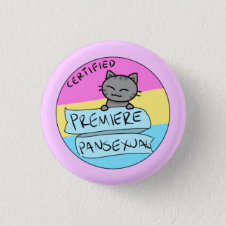 Premiere Pansexual! Pinback Button