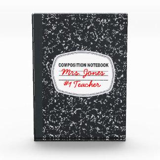 Premio adaptable del cuaderno de la composición