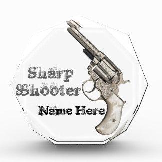 Premio agudo de la pistola del arma del vintage o