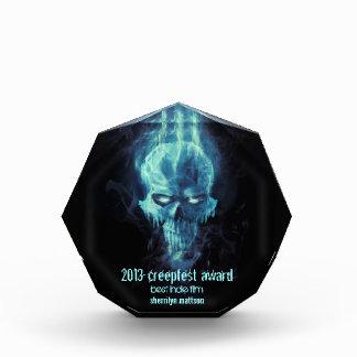 premio azul del cráneo