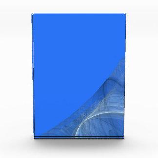 Premio azul elegante del fondo de la frontera del