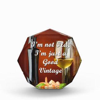 Premio chistoso para los amantes del vino del