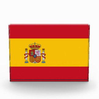 Premio con la bandera de España