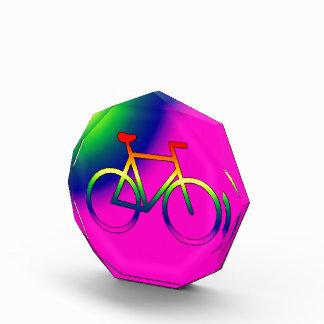 Premio de acrílico del octágono de la bicicleta